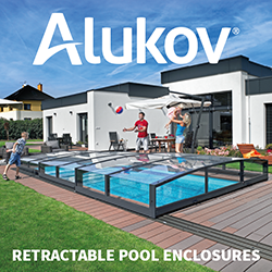 Swimming pool enclosures from Alukov UK