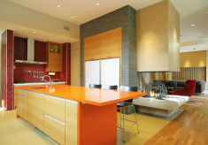 Adding Color To The Kitchen