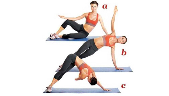 Exercise for Love Handles 1