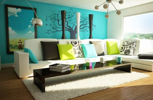 Add A Bit of Color To Your Living Areas