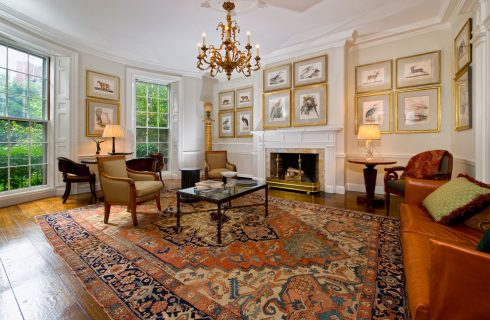 Keeping it Simple and Beautiful with a Traditional Rug