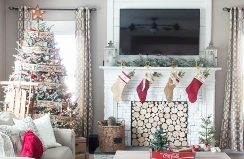 Stylish Christmas Home Designing Ideas