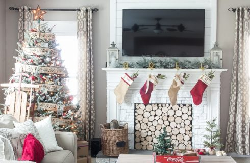 Stylish Christmas Home Designing Ideas