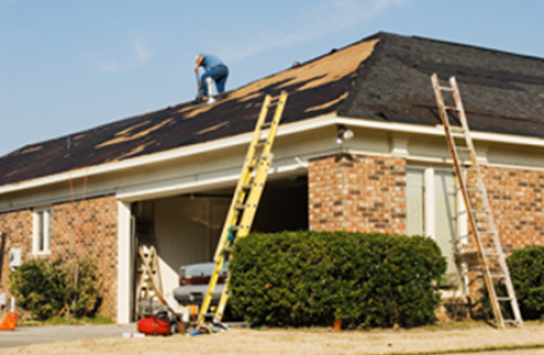 Getting your roof replaced