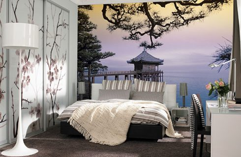 Create an outstanding design at your living room with stylish – Wall Murals
