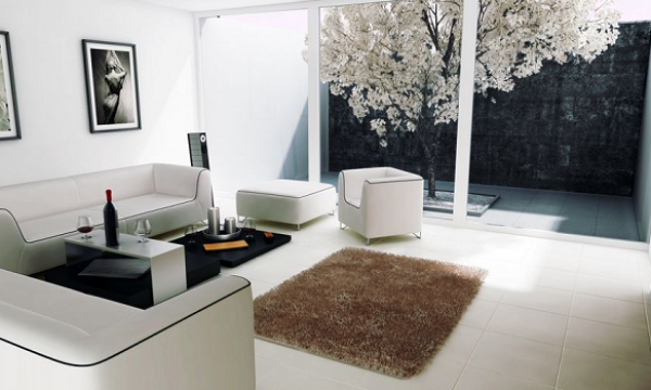 How to open up your living room space