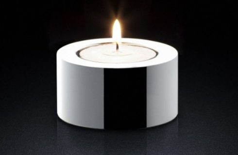 Lighting The Home With Candles